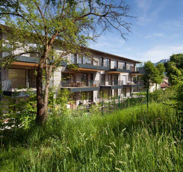 Wohnen im Park, Appesbacher Zimmerei Holzbau