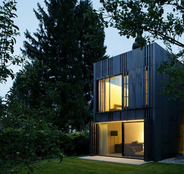 Wohnhaus Holz und Lehm