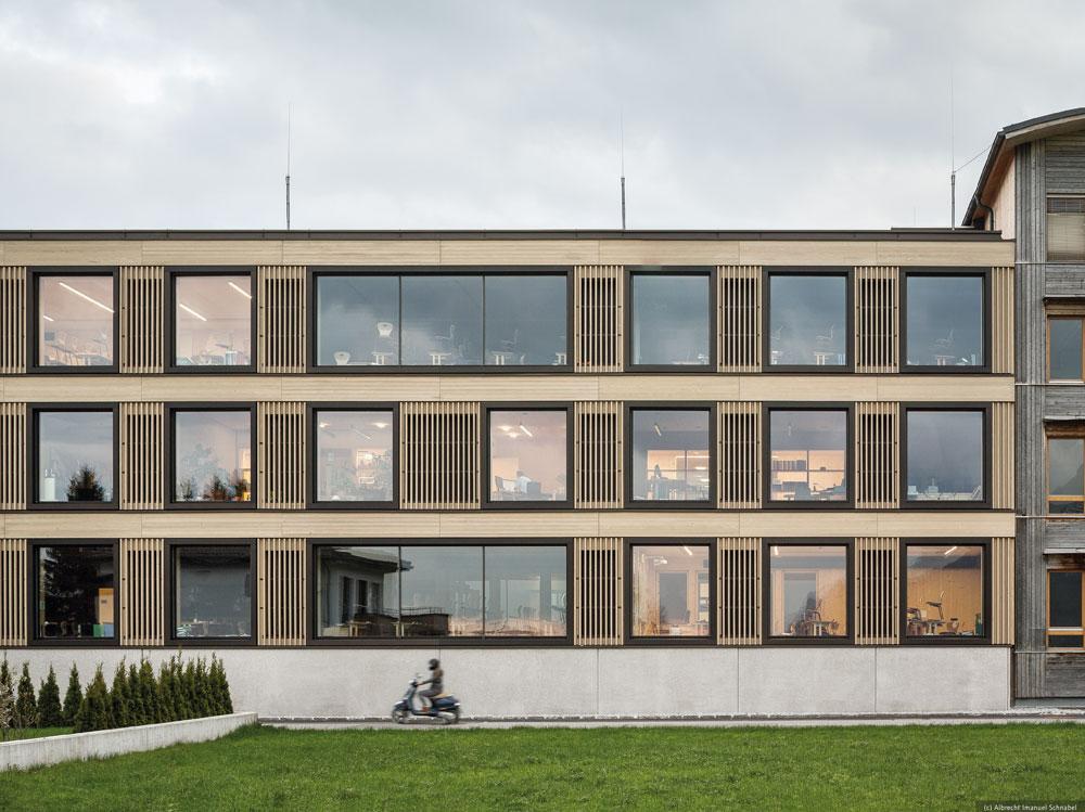 Holztechnikum Kuchl, Holzbaupreis Salzburg 2019