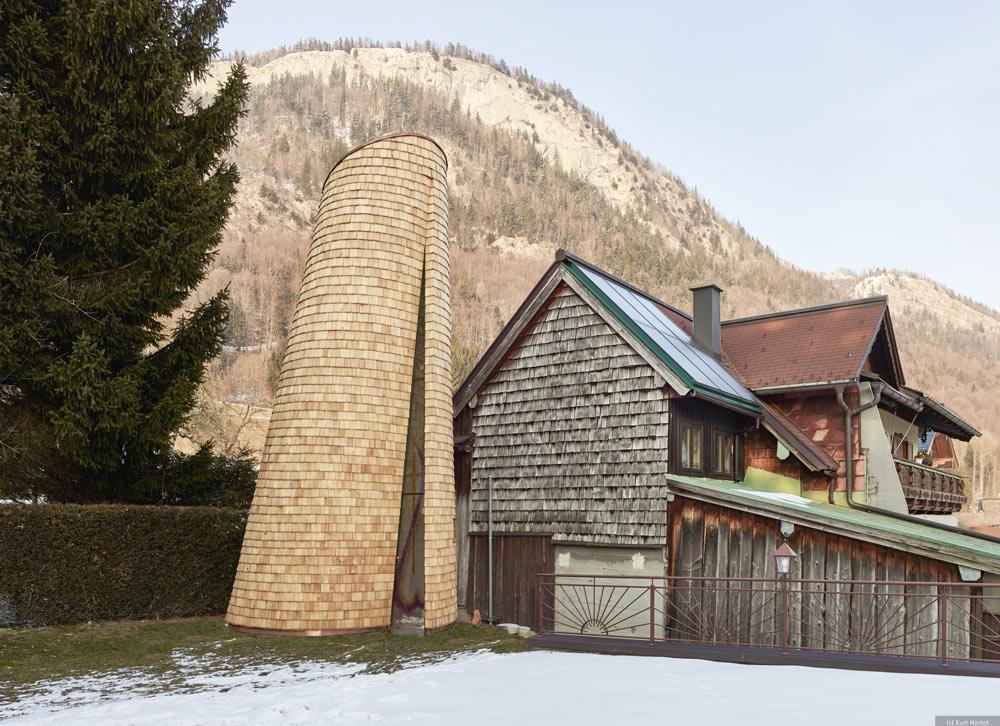 Kapelle der Barmherzigkeit, Holzbaupreis Salzburg 2019, Holz
