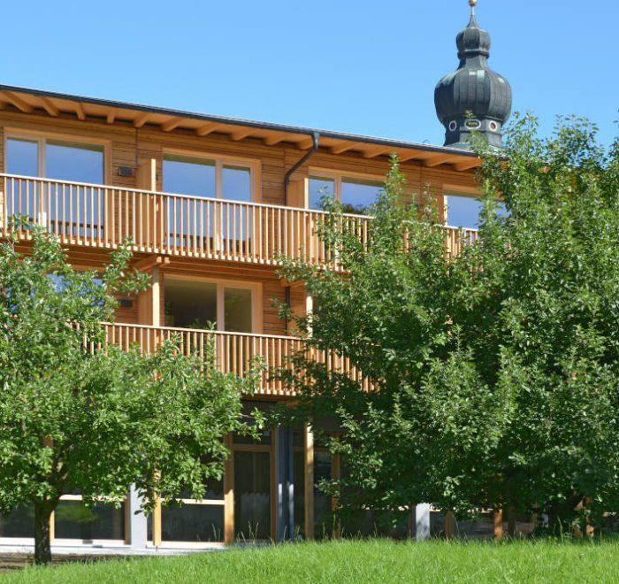Hotel Gasthof Neumayr, Obertrum, mit Holz bauen